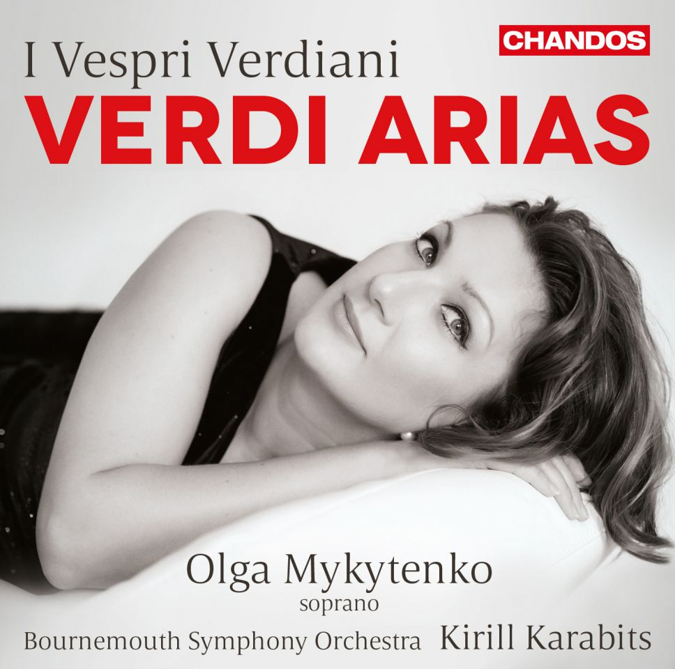 CD Cover Olga Mykytenko